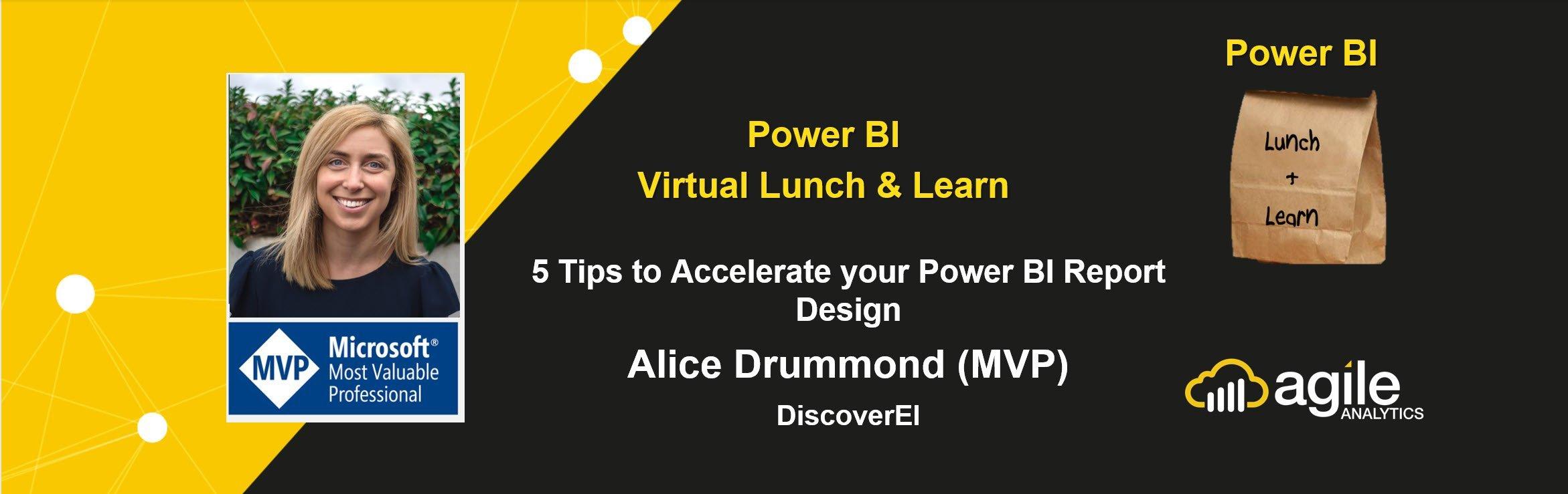 Alice Drummond (MVP) - Power BI Design Tips