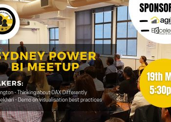 Sydney Power BI User Group - May 2021 - DAX and Data Visualisation Tips