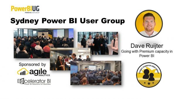 Sydney Power BI Meetup - Power BI Premium